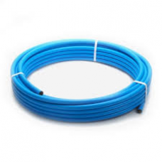 20mm x 100m MDPE PIPE-BLUE
